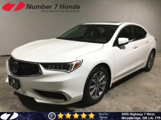 Used 2018 Acura TLX Tech| Loaded Options| Leather| Backup Cam| for sale in Woodbridge, ON