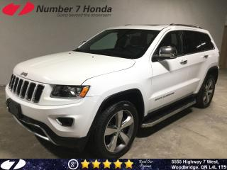Used 2016 Jeep Grand Cherokee Limited| Leather| Backup Cam| All-Wheel Drive| for sale in Woodbridge, ON