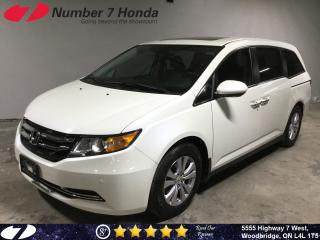 Used 2017 Honda Odyssey EX-L| Navi| Leather| Sunroof| for sale in Woodbridge, ON