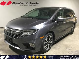 Used 2018 Honda Odyssey Touring| Loaded| Leather| Navi| DVD| for sale in Woodbridge, ON