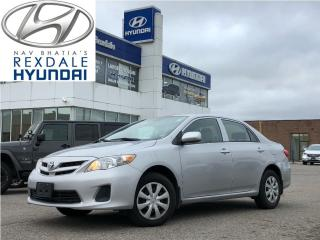 Used 2012 Toyota Corolla CE for sale in Toronto, ON