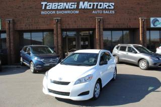 Used 2013 Toyota Matrix NO ACCIDENTS I POWER OPTIONS I KEYLESS ENTRY I CRUISE for sale in Mississauga, ON