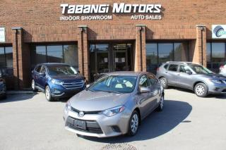 Used 2016 Toyota Corolla BIG SCREEN I REAR CAM I HEATED SEATS | KEYLESS ENTRY I BT for sale in Mississauga, ON
