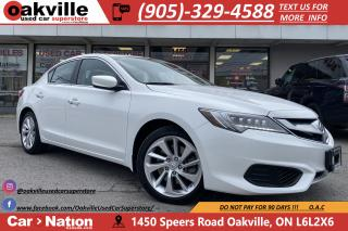 Used 2017 Acura ILX PREMIUM | NAVI | B/U CAM | LEATHER | SUNROOF for sale in Oakville, ON