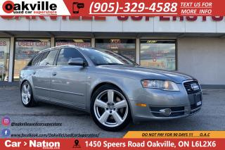Used 2006 Audi A4 2.0T AVANT | LEATHER | HTD SEATS | NAVIGATION for sale in Oakville, ON