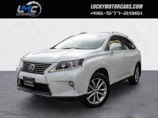 Used 2015 Lexus RX 350 AWD SPORTDESIGN-LEATHER-ROOF-BACK UP CAMERA-NAVIGATION for sale in Toronto, ON