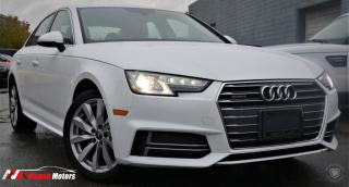 Used 2018 Audi A4 2.0 TFSI QUATTRO KOMFORT S TRONIC FULLY LOADED / MOONROOF for sale in Brampton, ON