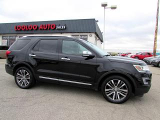 Used 2017 Ford Explorer Platinum AWD DVDs Navigation Camera for sale in Milton, ON
