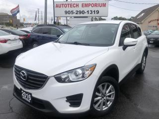Used 2016 Mazda CX-5 Prl White Auto/Navigation/All Power/Keyless Entry for sale in Mississauga, ON