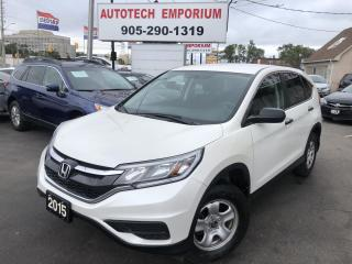 Used 2015 Honda CR-V Prl White Automatic Camera/Htd Seats/Bluetooth &GPS* for sale in Mississauga, ON