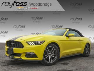 Used 2017 Ford Mustang EcoBoost Premium Convertible for sale in Woodbridge, ON