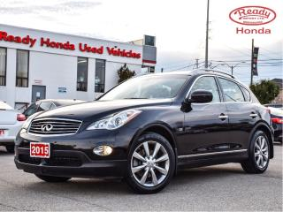 Used 2015 Infiniti QX50 Journey  AWD - Leather - Sunroof - Rear Camera for sale in Mississauga, ON