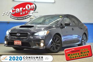 Used 2015 Subaru WRX PREMIUM SPORT 6 SPEED SUNROOF REAR CAM HTS SEATS for sale in Ottawa, ON