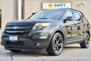 Used 2015 Ford Explorer SPORT 4WD, ONE OWNER, ACCIDENT FREE! for sale in Burlington, ON