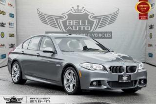 Used 2015 BMW 5 Series 535i xDrive, M PKG, AWD, NO ACCIDENT, NAVI, BACK-UP CAM, SENSORS for sale in Toronto, ON