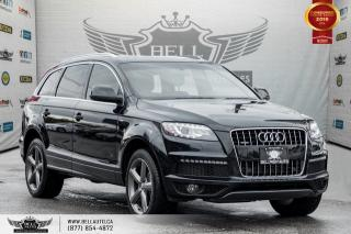 Used 2015 Audi Q7 3.0L TDI Vorsprung Edition, AWD, NAVI, BACK-UP CAM, NO ACCIDENT for sale in Toronto, ON