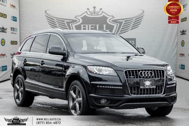 2015 Audi Q7 3.0L TDI Vorsprung Edition, AWD, NAVI, BACK-UP CAM, NO ACCIDENT