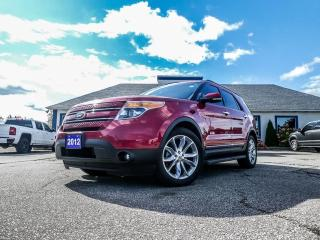 Used 2012 Ford Explorer Limited- NAVIGATION- PANORAMIC SUNROOF- BACKUP CAMERA- LOADED for sale in Essex, ON