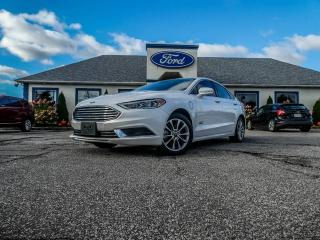 Used 2018 Ford Fusion Energi SE- LEATHER- NAVIGATION- HYBRID- BACKUP CAMERA- BLUETOOTH for sale in Essex, ON