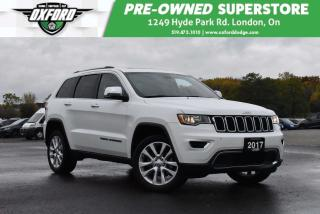 Used 2017 Jeep Grand Cherokee Limited - Roof Rack, GPS, Backup for sale in London, ON