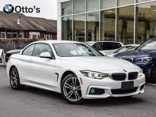 Used 2018 BMW 4 Series xDrive Cabriolet M SPORT DRIVER ASIST for sale in Ottawa, ON