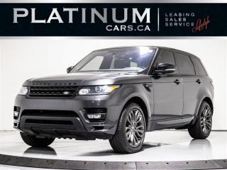 Used 2016 Land Rover Range Rover Sport HST LE, AUTOBIOGRAPHY APPEARANCE, NAVI, PANO, CAM Range Rover Sport for sale in Toronto, ON