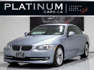Used 2011 BMW 335i CABRIO, HARMAN/KARDON, Shift PADDLES, Keyless for sale in Toronto, ON