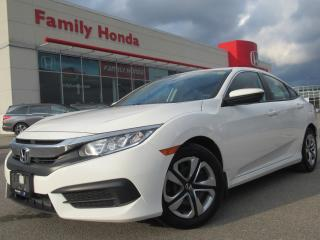 Used 2016 Honda Civic LX | EXTENDED WARRANTY UNTIL 120,000 KMS | for sale in Brampton, ON