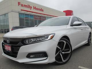 Used 2018 Honda Accord Sport | REVERSE CAMERA | HEATED SEATS | for sale in Brampton, ON