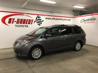 Used 2017 Toyota Sienna XLE 7-Pass AWD, NAVIGATION for sale in St-Hubert, QC