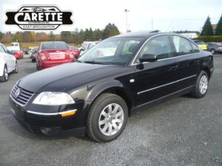 Used 2003 Volkswagen Passat for sale in East broughton, QC