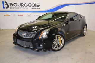 Used 2012 Cadillac CTS-V Coupe *** sièges RECARO, TOIT OUVRANT, NAV !!! *** for sale in Rawdon, QC