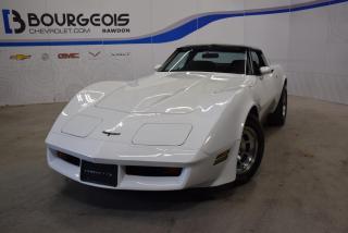 Used 1981 Chevrolet Corvette Coupe *** C3, ENSEMBLE DE 2 T-top !!! *** for sale in Rawdon, QC