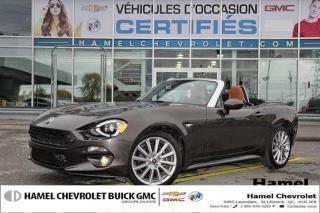 Used 2017 Fiat 124 Spider Lusso for sale in St-Léonard, QC