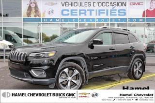 Used 2019 Jeep Cherokee LIMITED * TOIT PANO * CUIR * 8 PNEUS/ROUES * 4X4 for sale in St-Léonard, QC