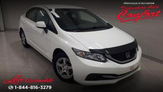 Used 2013 Honda Civic LX 4 portes, boîte automatique for sale in Chicoutimi, QC