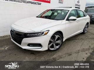 Used 2020 Honda Accord Sedan Touring for sale in Cranbrook, BC