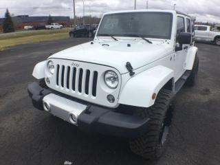 Used 2015 Jeep Wrangler Unlimited Sahara for sale in Thunder Bay, ON
