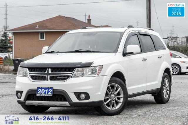 2012 Dodge Journey R/T AWD 7-SEAT LEATHER/ROOF CERTIFIED FINANCE