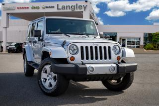 Used 2012 Jeep Wrangler Unlimited Sahara *BLUETOOTH* *HEATED SEATS* for sale in Surrey, BC