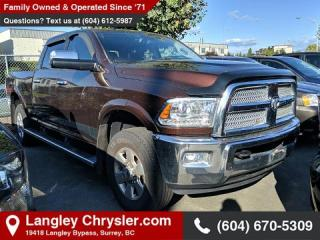 Used 2013 RAM 3500 Laramie Longhorn - Navigation -  Leather Seats for sale in Surrey, BC