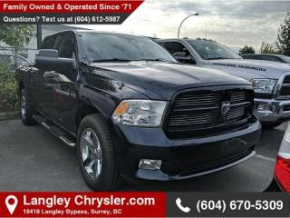 Used 2012 RAM 1500 Sport *BACKUP CAMERA* *SUNROOF* *COLD WEATHER GROUP* for sale in Surrey, BC