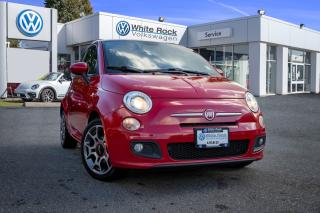 Used 2012 Fiat 500 Sport <b>*LOCAL* *NO ACCIDENTS* *SUNROOF* *HEATED SEATS* *SPORT MODE* *BLUETOOTH*<b> for sale in Surrey, BC