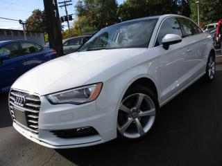 Used 2015 Audi A3 TDI KOMFRT|ONE OWNER|SUNROOF|53,000KM|DIESEL !! for sale in Burlington, ON