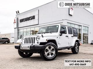 Used 2017 Jeep Wrangler Unlimited Hard and Soft Top for sale in Mississauga, ON