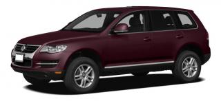 Used 2010 Volkswagen Touareg TDI Comfortline DIESEL, LEATHER, SUNROOF, HEATED SEATS AND MIRRORS! for sale in Surrey, BC