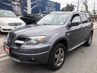 Used 2006 Mitsubishi Outlander SE for sale in Toronto, ON