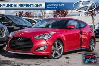 Used 2013 Hyundai Veloster TURBO 201HP**CUIR, NAV, TOIT OUVRANT, DÉMARREUR** for sale in Repentigny, QC