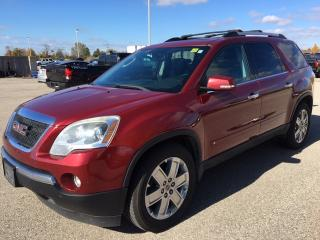 Used 2010 GMC Acadia SLT - REAR DVD|LEATHER|7PASS|CHROME ALLOYS for sale in Ancaster, ON