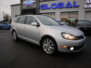 Used 2012 Volkswagen Golf Sportwagon 2.0L TDI HIGHLINE AUTO PANO ROOF. for sale in Ottawa, ON